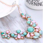 Rhinestone Pendant Necklaces
