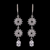 Fancy Earrings - Silver
