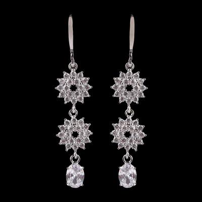 Fancy Earrings - Silver