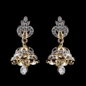 Indian Fancy Jhumar Earrings Silver