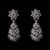 Indian Fancy Earrings Silver Color