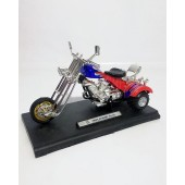 Red Bike 3 Wheel - Die cast Vehicles