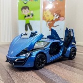 Lykan Hypersport Diecast Car With Light & Sound Scale 1:24