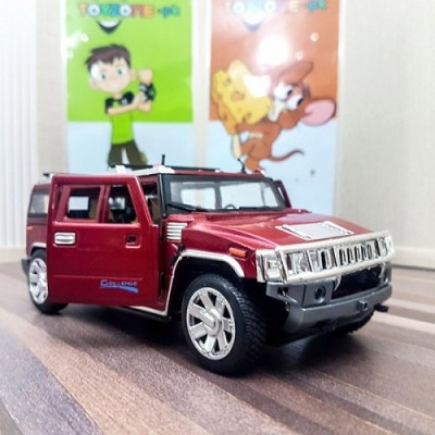 Hummer Car Diecast With Light & Sound Scale 1:24
