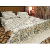 White Color 7pc Comforter Set