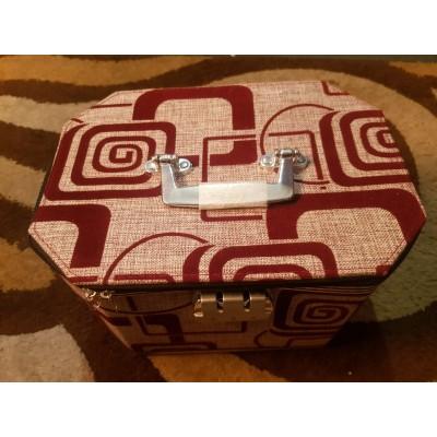 Beauty Box Brown Pattern