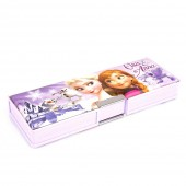 Frozen Double Sided Pencil Box - Purple