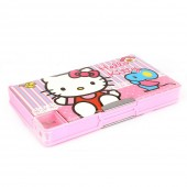 Hello Kitty Double Sided Pencil Box - Pink