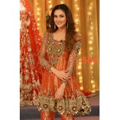 Kashees Net Embroidery Party Wear Suit
