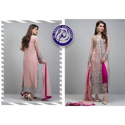Zainab Chottani Branded Unstitched Chiffon Fabric