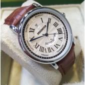 Cartier Luxury Gents Brown Watch