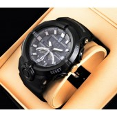 G-Shock Casio Black Men Watch Dual Time
