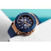 Guess Quartz Silicon Belt Watch