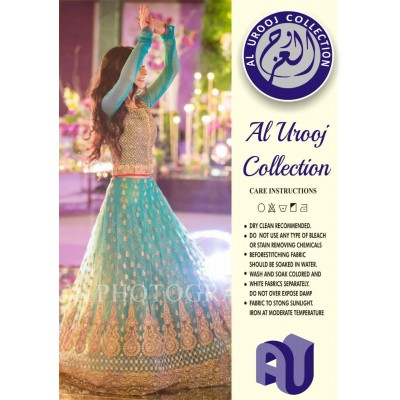 Complete Net Frock With Plain Malai Trouser